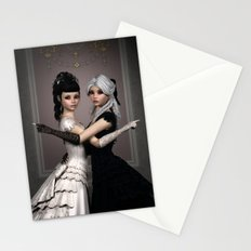 Beautiful Ladies and a difficult choice Stationery Cards
