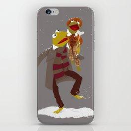 Kermit Christmas Carol iPhone Skin