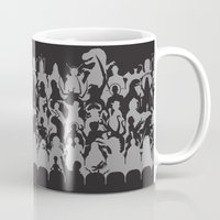 theater Mugs featuring Mystery Theater 3K by Captain_RibMan