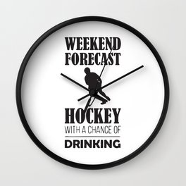 Weekend Forecast Wall Clock
