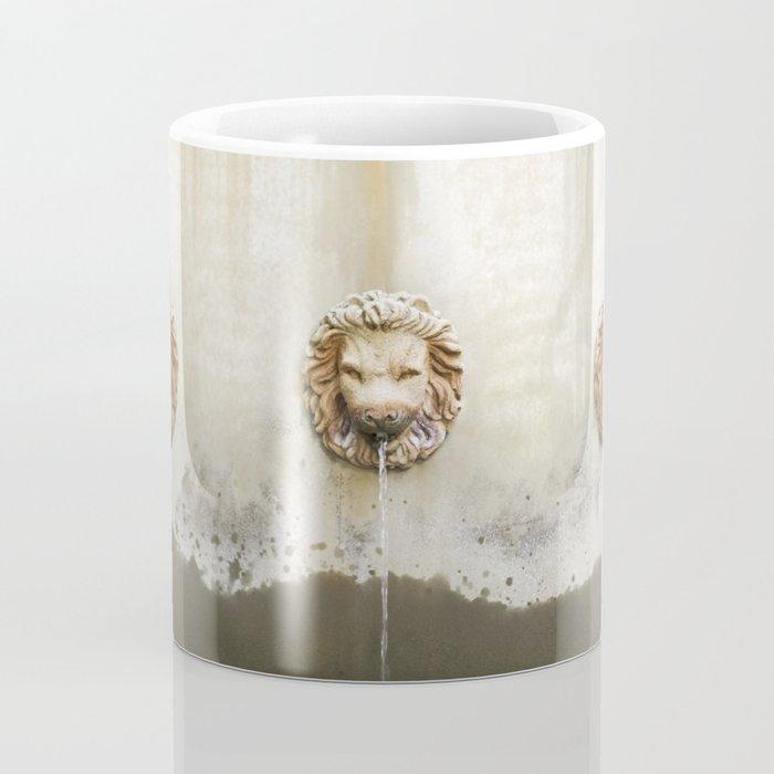 Three Lions Fountain Coffee Mug