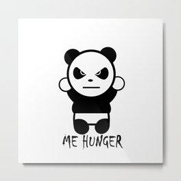 Freakout Panda... Metal Print