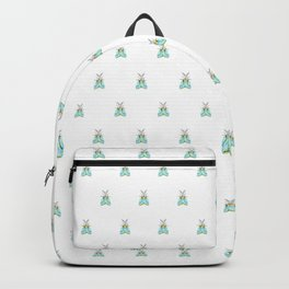 Blue Moth Backpack