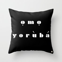 omo  Throw Pillow