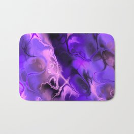 The Love For Violet Purple - Fractal Art Bath Mat