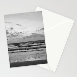 Texas Coast #blackwhite Stationery Cards