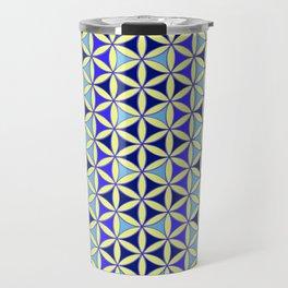 Flower of Life Pattern 4 Travel Mug