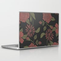 flora Laptop & iPad Skins featuring Flora by Norman Duenas
