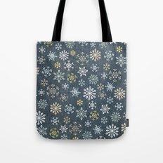night time snow  Tote Bag