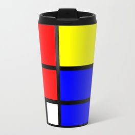 Mondrianista Travel Mug