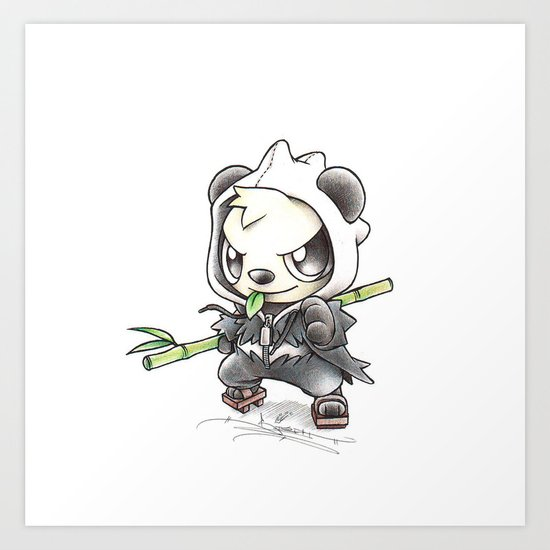 Skadoosh Art Print