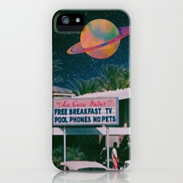 greetings from palm springs iPhone Case