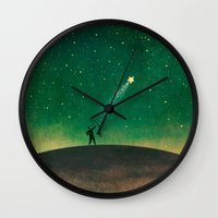 archer Wall Clocks featuring Stars Archer by Rowe