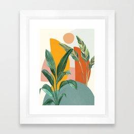 Leaf Design 03 Framed Art Print