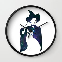 Minerva and Cat Wall Clock