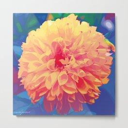 Madeline - Energetic Flower Metal Print
