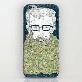 Hipster Beards iPhone Skin