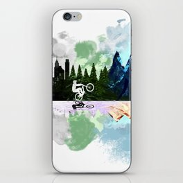 Go to The Mountains iPhone Skin
