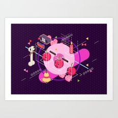 Tasty Visuals - Cherry Picker Art Print