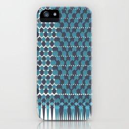 Cubist Ornament Pattern iPhone Case