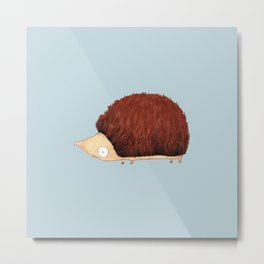 Hedgehog Metal Print