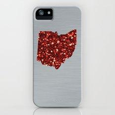 Ohio Red iPhone (5, 5s) Slim Case