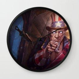 Uncle Ryze Splash Art Wallpaper Background Official Art Artwork League of Legends lol Wall Clock