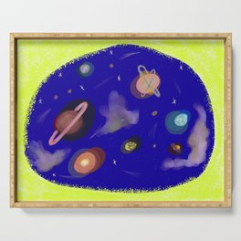 Space Story Serving Tray