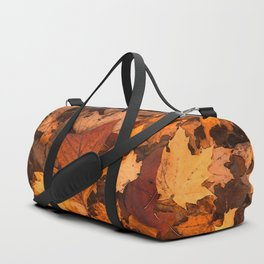 Autumn Fall Leaves Duffle Bag