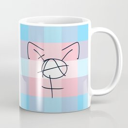 Tranarchy Plaid Coffee Mug