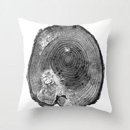 Pine Log Throw Pillow
