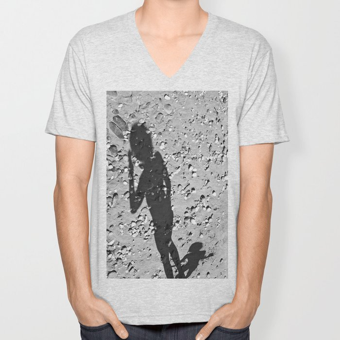 Shadows_A Unisex V-Neck