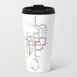 Minneapolis Skyway Map Travel Mug