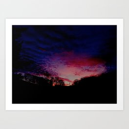 """Winter Sky"" Art Print"