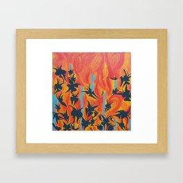 mariposas Framed Art Print