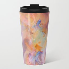 Safhana- Abstract Fractal Art Travel Mug