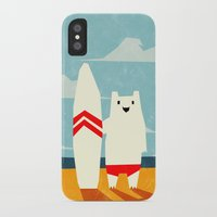surf iPhone & iPod Cases featuring Surf! by Yetiland