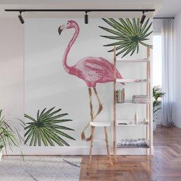 Flamingo tropical Wall Mural
