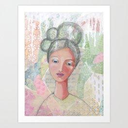 Angel of wisdom Art Print