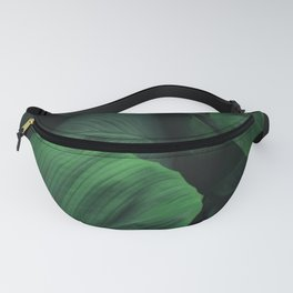 Green Nature Deep Leaves Fanny Pack