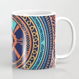 Colorful Hunab Ku Mayan symbol Coffee Mug