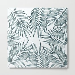 Palm Leaves #society6 #buyart Metal Print