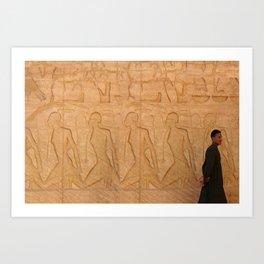 Going my way - Egypt Art Print