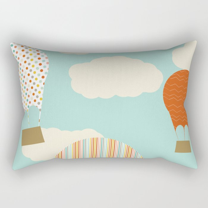 Away We Go Rectangular Pillow