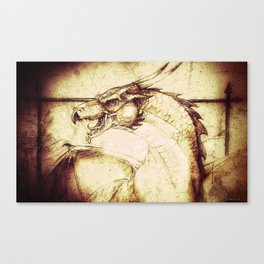 Ancient Dragon Canvas Print