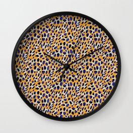 Lucky Leopard Wall Clock