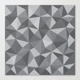 Geometric pyramids V5 Canvas Print
