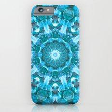 Blue mandala of the stones iPhone 6s Slim Case