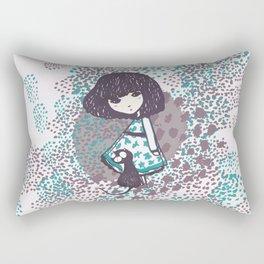 the chihiro girl #2 Rectangular Pillow