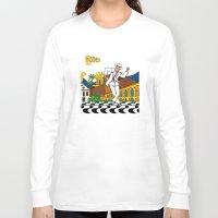 rio Long Sleeve T-shirts featuring Rio Bohemia by Monica Fuchshuber